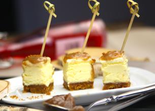 Petits cheesecakes crème de marron