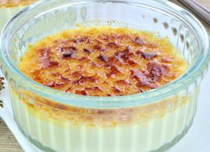 Crème brûlée infusion de thym