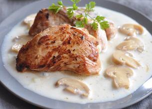 Filet mignon de veau, sauce roquefort