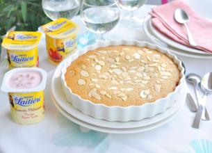 Financier XL aux amandes et yaourt pâtissier La Laitière
