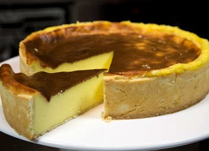 Flan pâtissier traditionnel