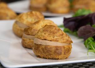 Gougères au foie gras