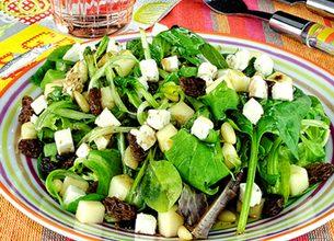 Salade du soleil au Salakis Ail & Fines herbes