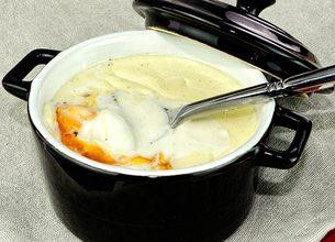 Oeuf Cocotte à la muscade et au Roquefort