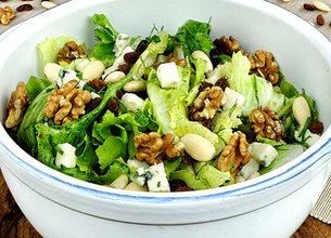 Salade des mendiants au Roquefort Société