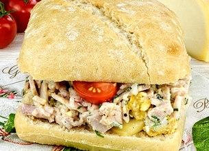 Sandwich « Le Parisien »