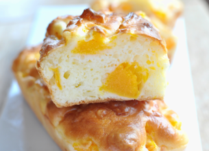 Mini-cakes au potiron et 3 fromages