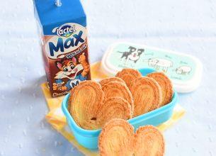Lactel Max chocolat et ses palmiers maison