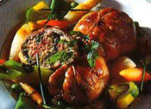 Paupiettes de veau aux légumes printaniers