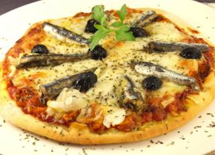 Pizza sicilienne au fromage de brebis Salakis