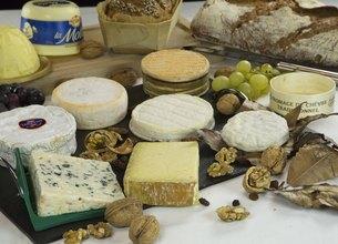 Plateau de fromages fin connaisseur
