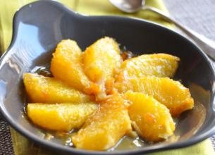 Poêlée d'orange au miel