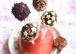 Cake pops chocolat