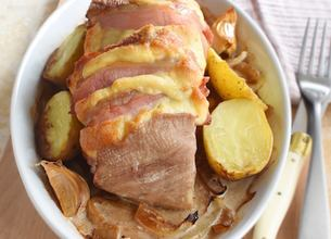 Rôti de porc Orloff