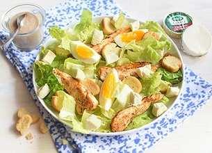 Salade césar au Société Crème