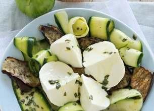 Salade Gran Tradizione aux légumes méditérranéens