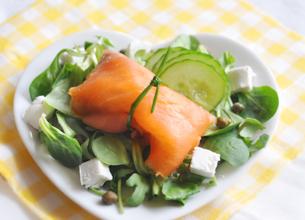 Salade du pêcheur aux « Petits Chèvres Doux »