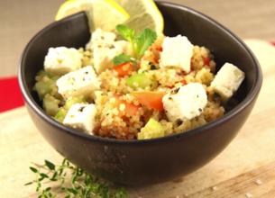 Taboulé de quinoa au Salakis