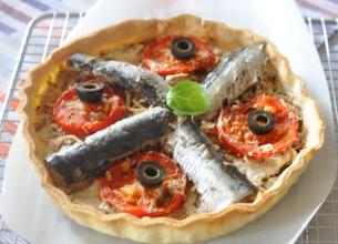 Tarte fine de sardines