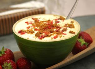 Ch'tiramisu aux fraises et Spéculoos